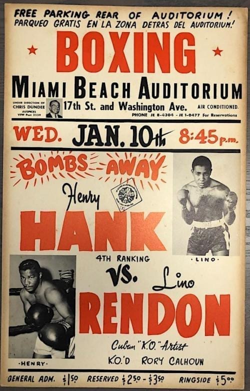 hank vs rendon poster